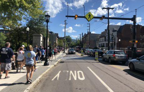 Pedestrian Warning Beacons